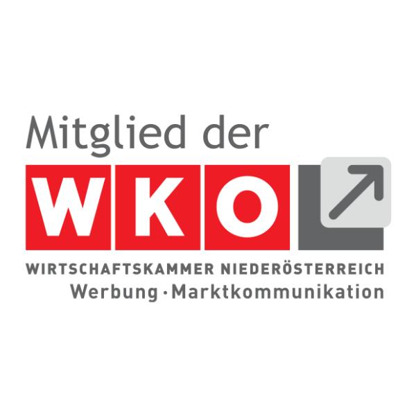 Mitglied der Wirtschaftskammer NÖ Werbung und Marktkommunikation Logo